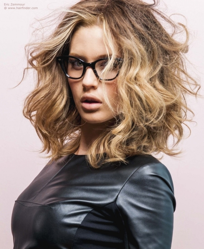 Best ideas about Long Wavy Bob Hairstyles . Save or Pin Curly Long Bob Hairstyles Now.