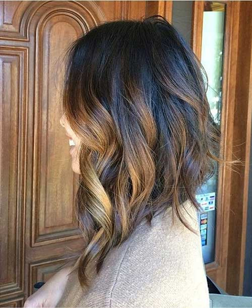 Best ideas about Long Wavy Bob Hairstyles . Save or Pin 20 Long Bobs Hairstyles 2014 2015 Now.