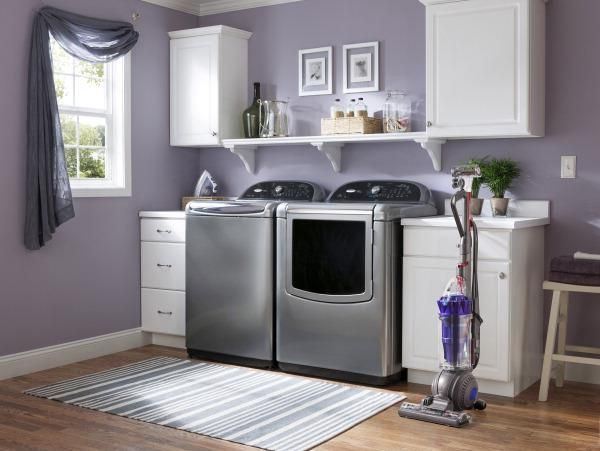 Best ideas about Lowes Laundry Room Cabinets . Save or Pin Elegant Laundry Room Kitchen Cabinet From Lowes 7 Now.