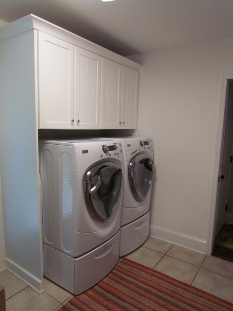 Best ideas about Lowes Laundry Room Cabinets . Save or Pin Shenandoah Charleston White Watson Laundry Traditional Now.