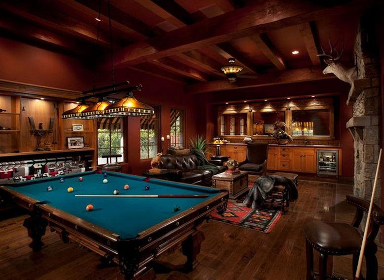 Best ideas about Luxury Game Room . Save or Pin Luxury Game Rooms Now.