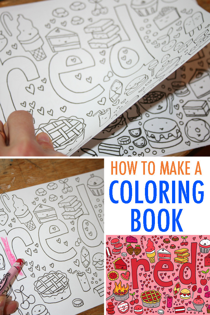Best ideas about Make Coloring Book Pages . Save or Pin Make Your Own Coloring Book FREE Tutorial Now.