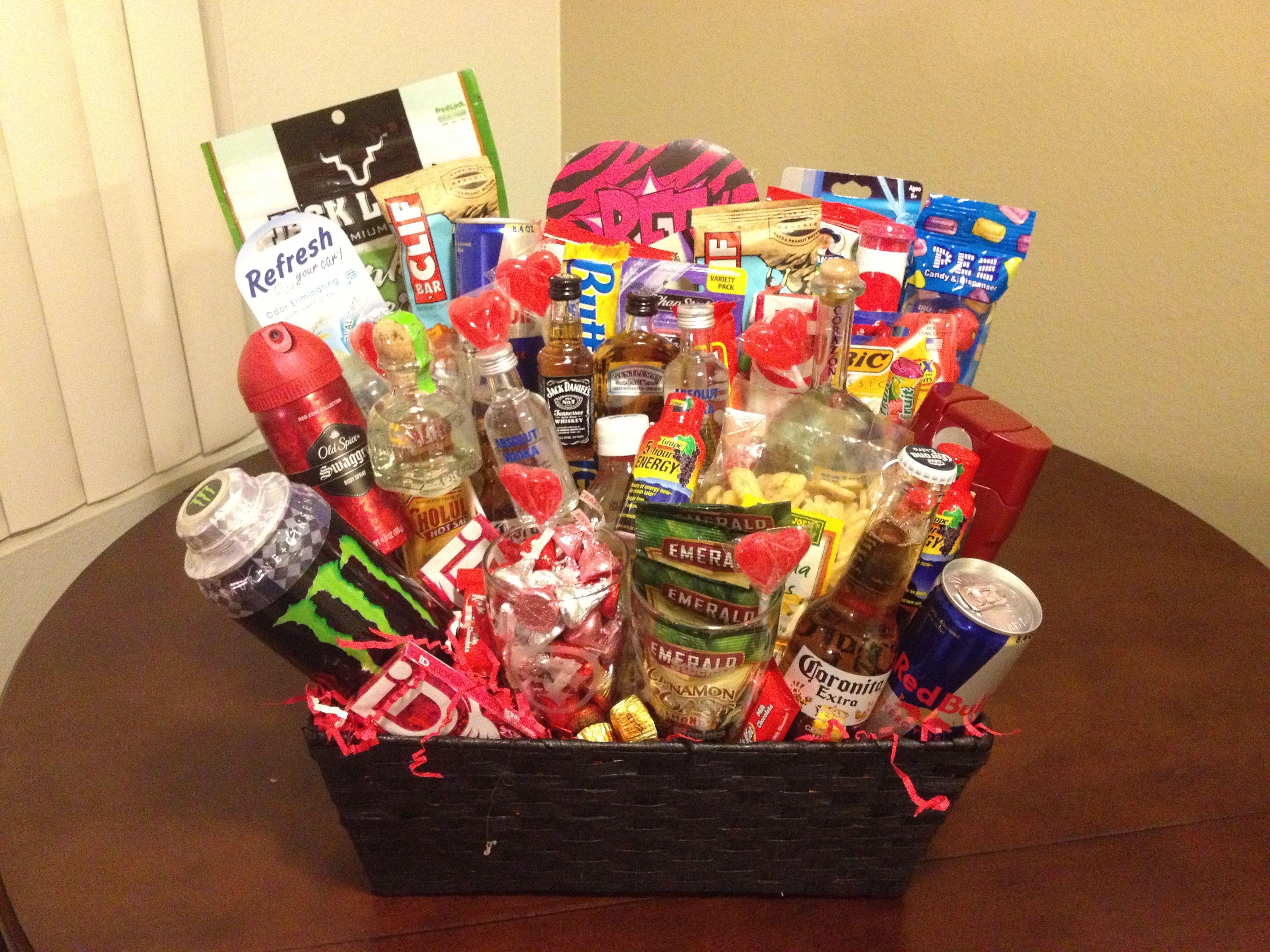 Best ideas about Man Gift Baskets Ideas . Save or Pin Man Basket DIY Pinterest Now.