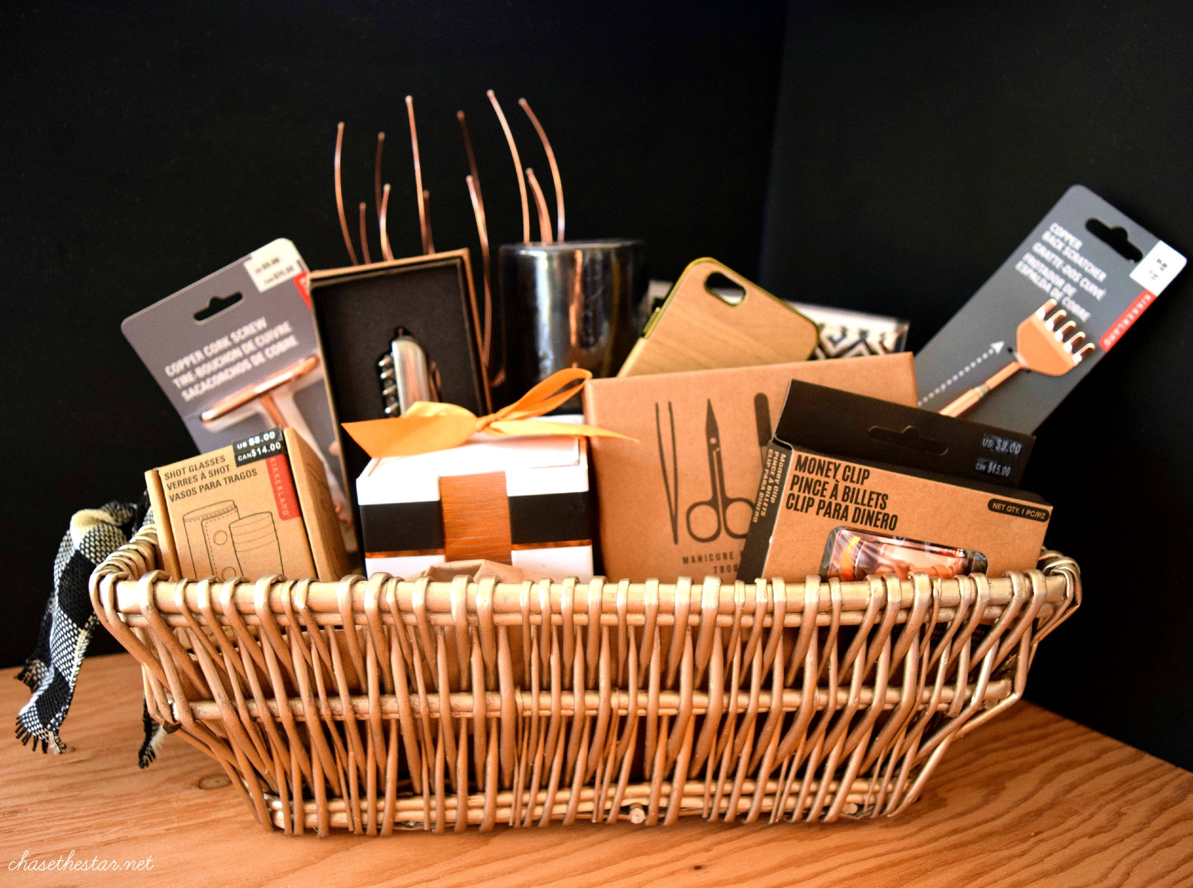Best ideas about Man Gift Baskets Ideas . Save or Pin 3 DIY Gift Basket Ideas Now.