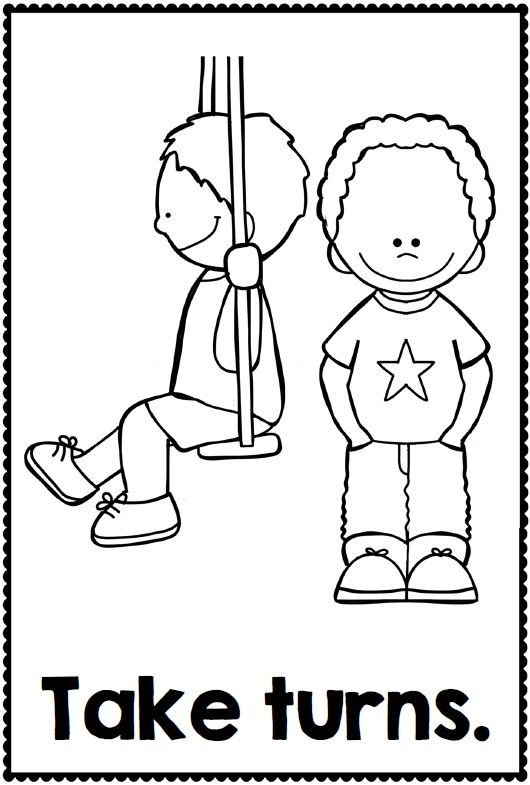 Best ideas about Manners Coloring Sheets For Kids . Save or Pin De 25 bedste idéer inden for Manners preschool på Now.