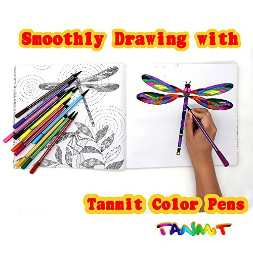 Best ideas about Markers For Adult Coloring Books . Save or Pin TANMIT Color Markers for Adult Coloring Books Premium Now.