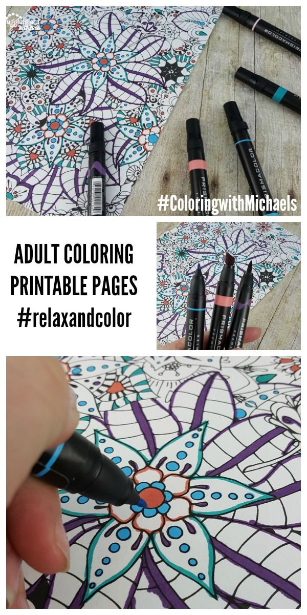 Best ideas about Markers For Adult Coloring Books . Save or Pin 16 best images about Adult Coloring Printables on Now.