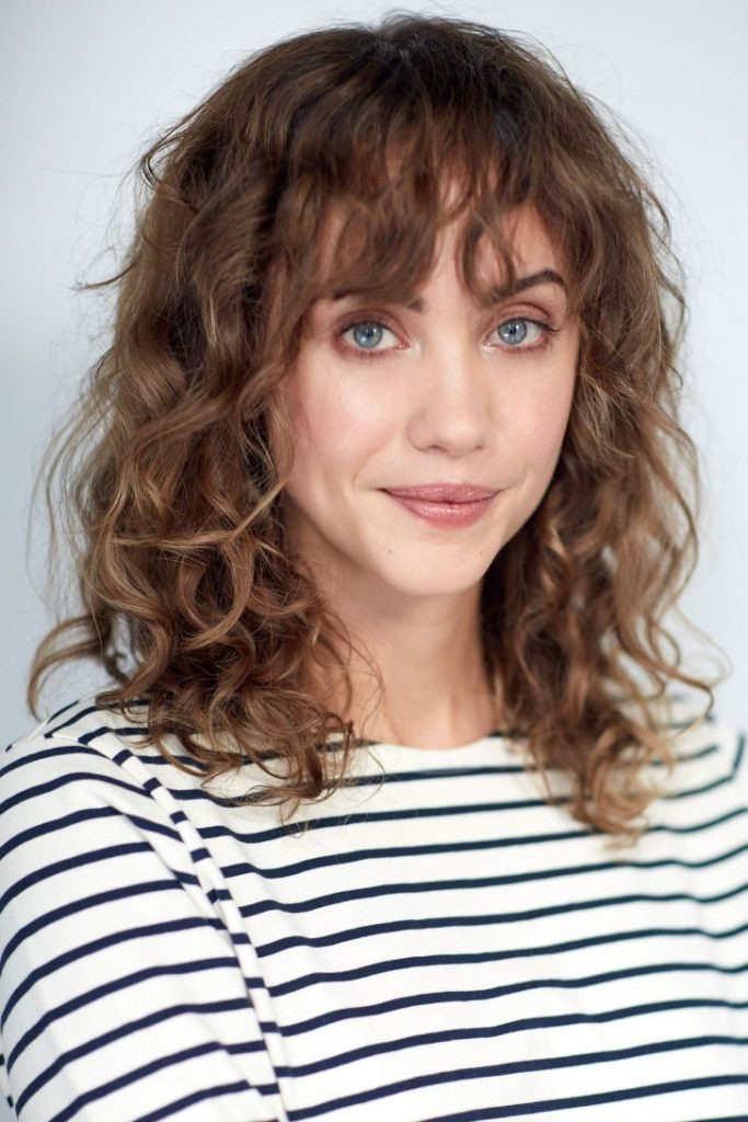 Best ideas about Medium Curly Hairstyles With Bangs . Save or Pin 30 Versatile Bang Haircuts For Medium Length Hairs Now.