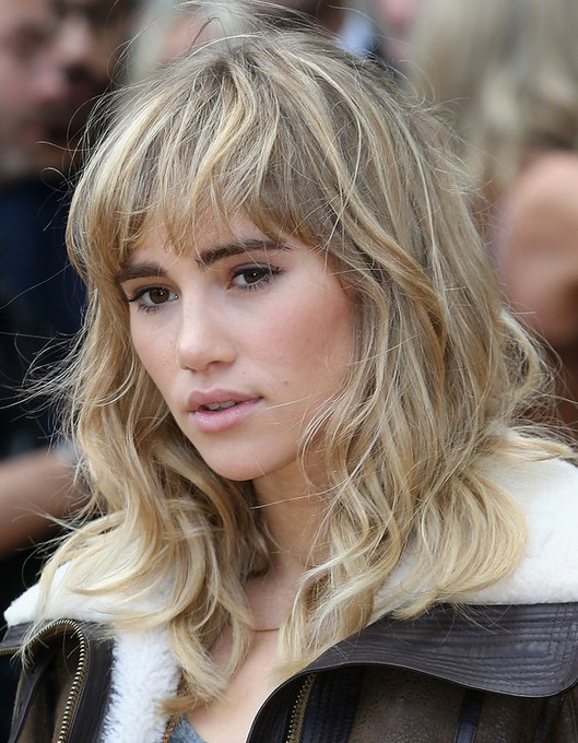 Best ideas about Medium Curly Hairstyles With Bangs . Save or Pin 80 Medium Hairstyles for 2014 Celebrity Haircut Trends Now.