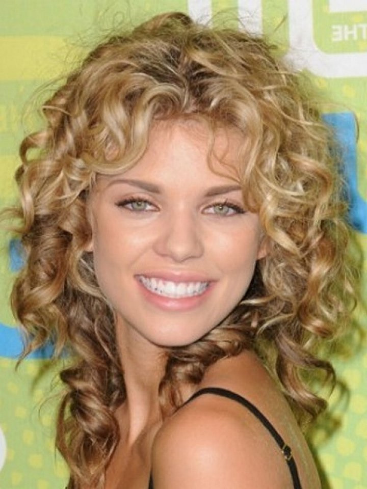 Best ideas about Medium Curly Hairstyles With Bangs . Save or Pin 25 Short Curly Hair With Bangs Now.