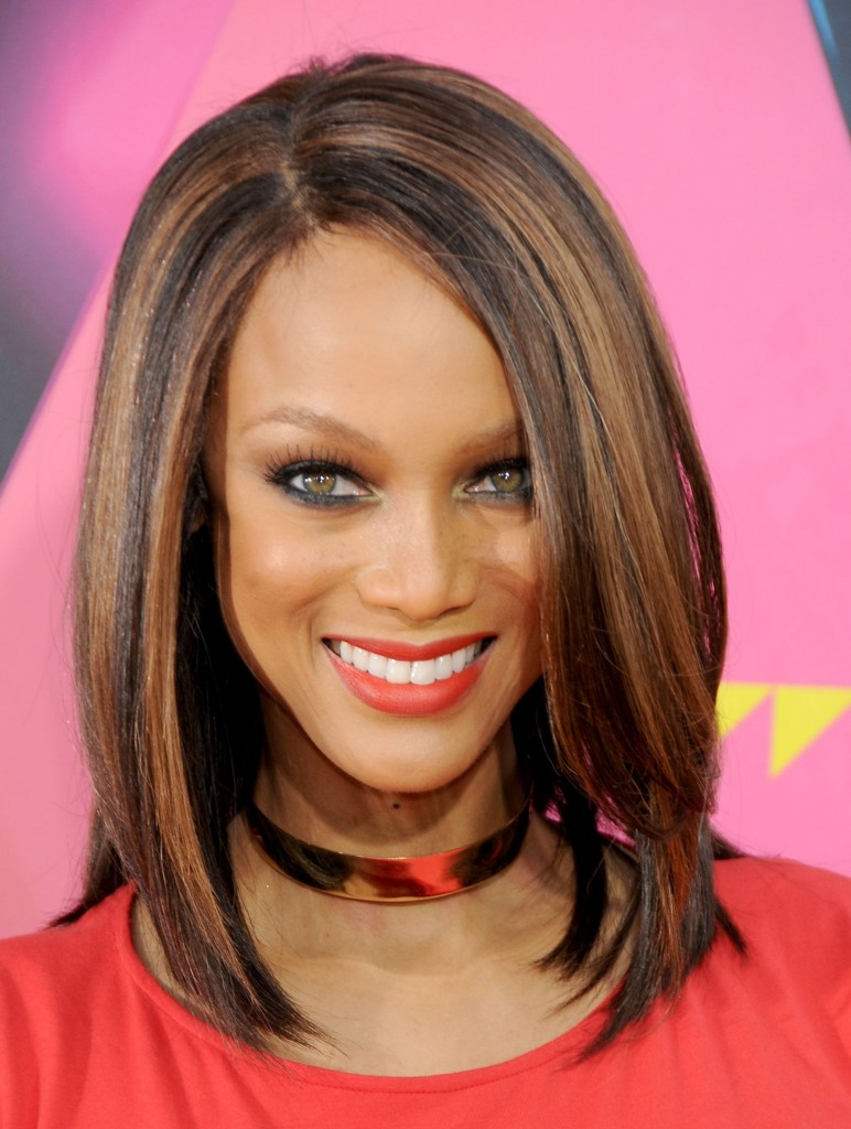 Best ideas about Medium Length Haircuts Straight Hair . Save or Pin Medium Hairstyles for Thick Hair and Haircare Tips Now.