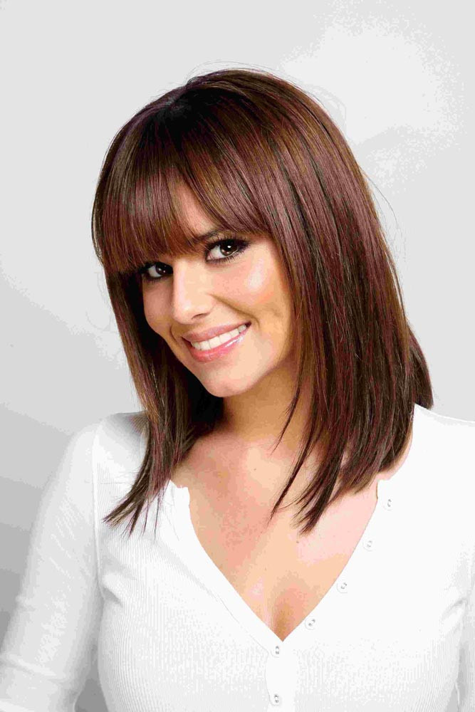 Best ideas about Medium Length Haircuts Straight Hair . Save or Pin Medium Length Hairstyles for Straight Hair Now.