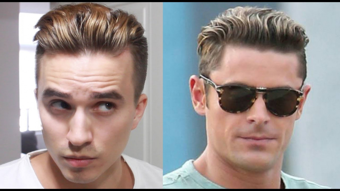 Best ideas about Men'S Undercut Hairstyles . Save or Pin Zac Efron Hairstyle Now.