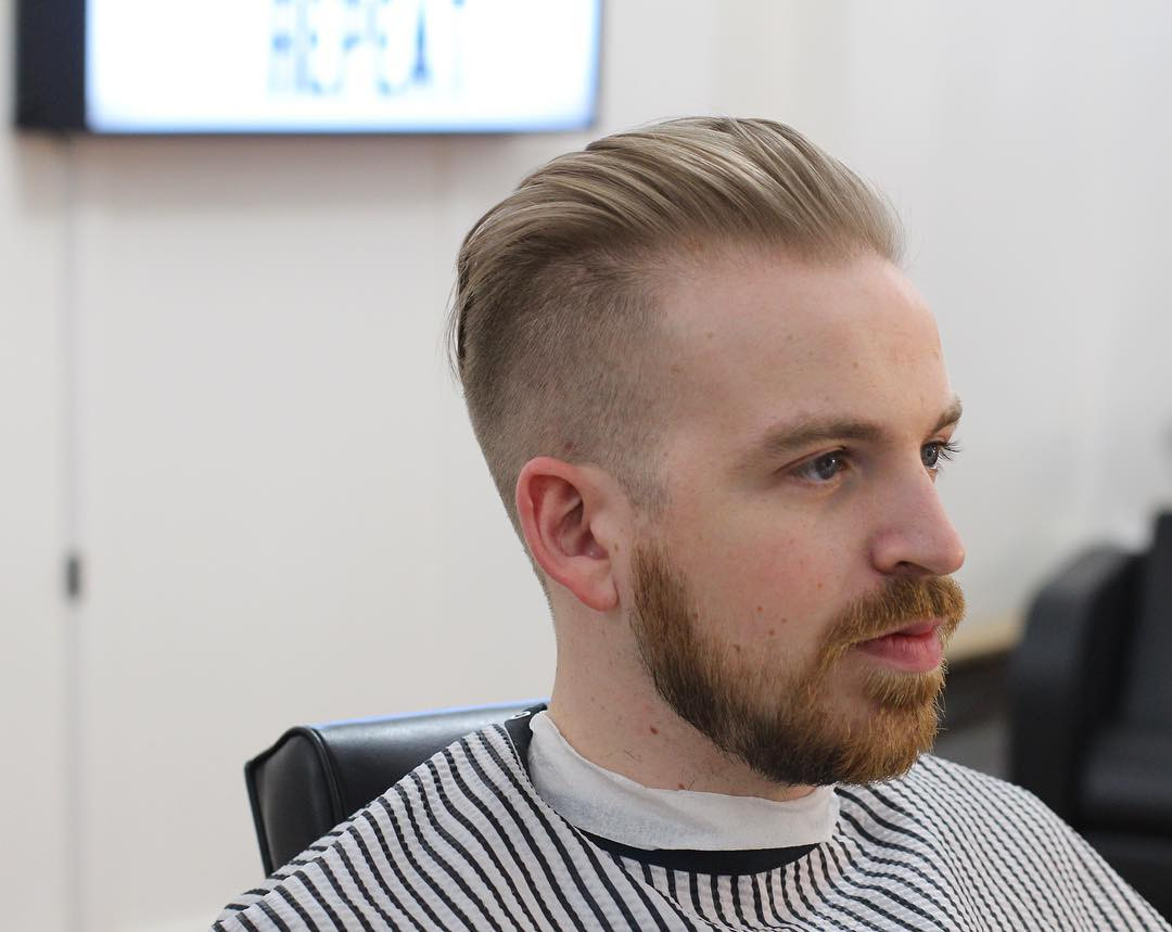 Best ideas about Mens Hairstyles For Receding Hairlines . Save or Pin Best Men s Haircuts Hairstyles For A Receding Hairline Now.