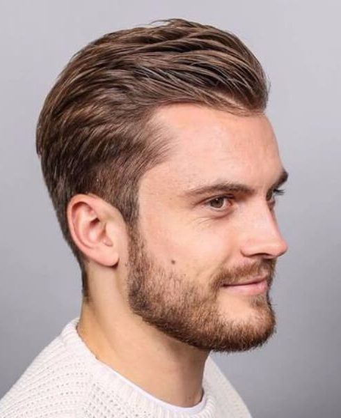 Best ideas about Mens Hairstyles For Receding Hairlines . Save or Pin 45 Hairstyles for Men with Receding Hairlines Now.