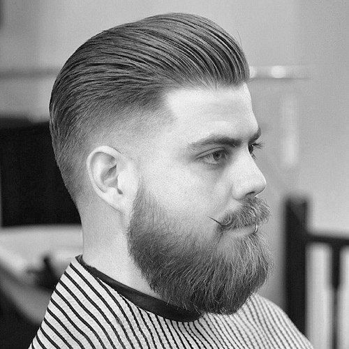 Best ideas about Mens Slick Back Hairstyle . Save or Pin Slicked Back Hair For Men 75 Classic Legacy Cuts Now.