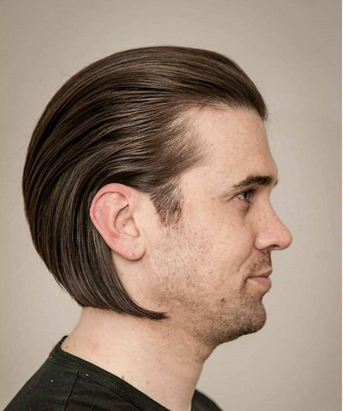 Best ideas about Mens Slick Back Hairstyle . Save or Pin 20 Trendy Slicked Back Hair Styles Now.
