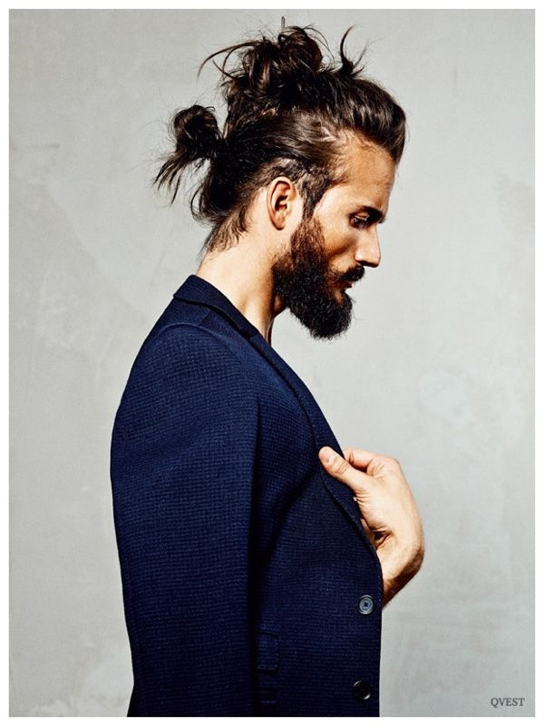 Best ideas about Mens Updo Hairstyles . Save or Pin 278 best mandoo s not updo s images on Pinterest Now.