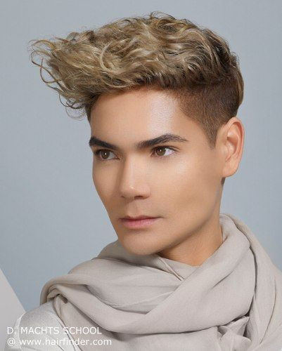 Best ideas about Mens Updo Hairstyles . Save or Pin Boys Getting Feminine Updos Now.