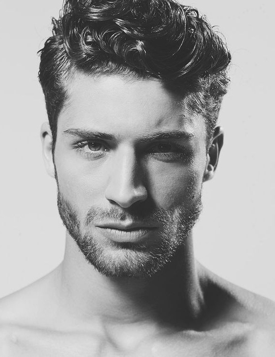 Best ideas about Mens Updo Hairstyles . Save or Pin Mens Hairstyles For Thick Curly Hair Men Haircuts The Best Now.