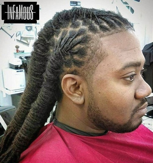 Best ideas about Mens Updo Hairstyles . Save or Pin 60 Hottest Men's Dreadlocks Styles to Try Now.