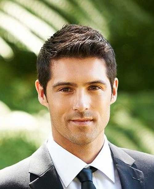 Best ideas about Mens Wedding Hairstyles . Save or Pin 40 Best Mens Short Haircuts Now.