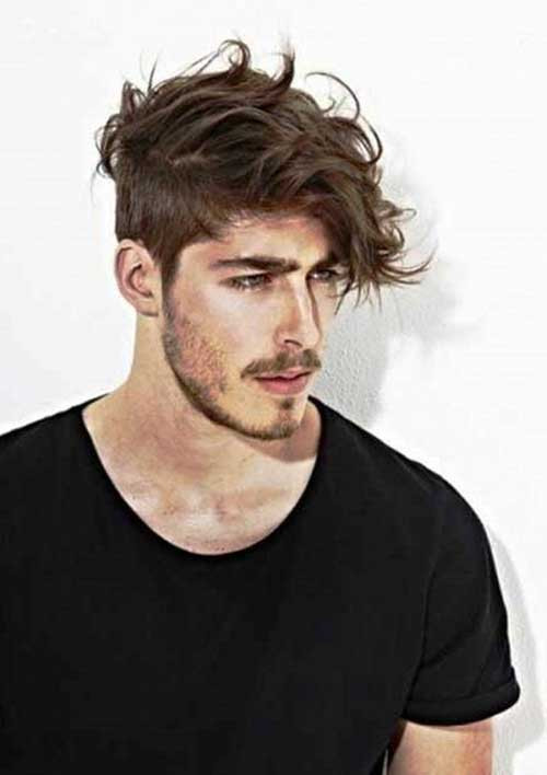 Best ideas about Messy Undercut Hairstyle . Save or Pin 50 Best Mens Haircuts Now.