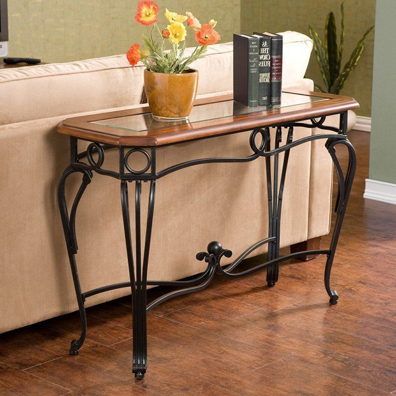 Best ideas about Metal Entryway Table . Save or Pin Console Tables For Entryway Buffet Table Wood Behind Sofa Now.