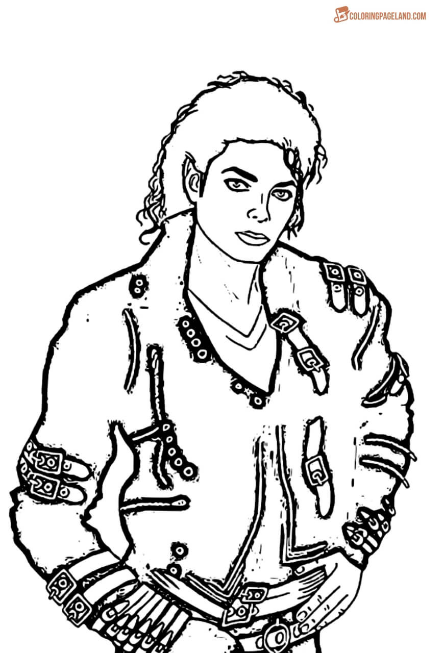 Best ideas about Michaels Adult Coloring Books . Save or Pin Michael Jackson Coloring Pages Free Printable Now.