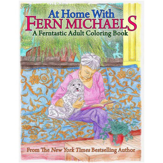 Best ideas about Michaels Adult Coloring Books . Save or Pin At Home With Fern Michaels A Ferntastic Adult Coloring Now.