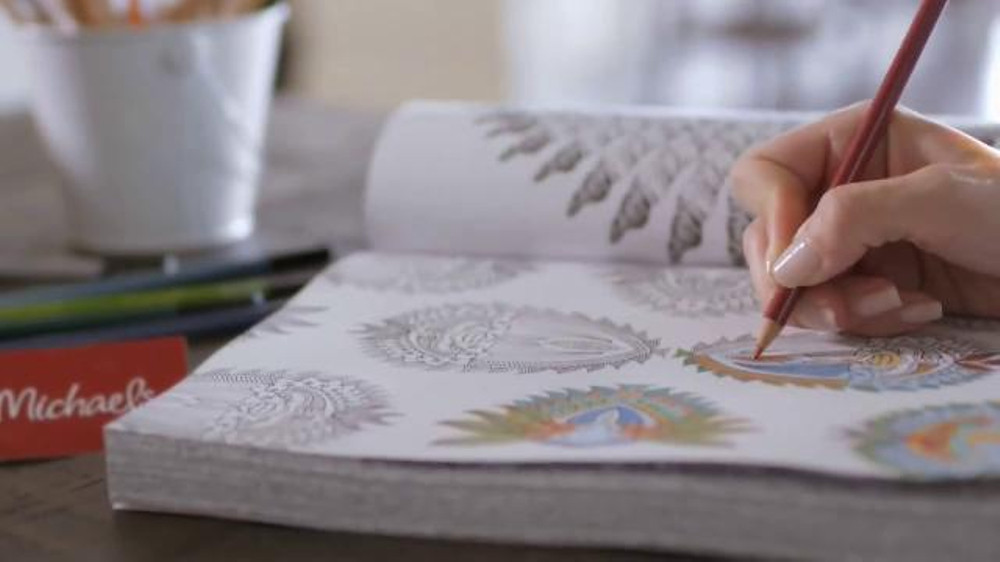 Best ideas about Michaels Adult Coloring Books . Save or Pin Michaels TV Spot What If Coloring Books for Adults Now.