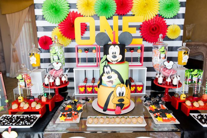 Best ideas about Mickey's Birthday Party . Save or Pin Kara 039 s Party Ideas Mickey Friends Birthday Party Kara Now.