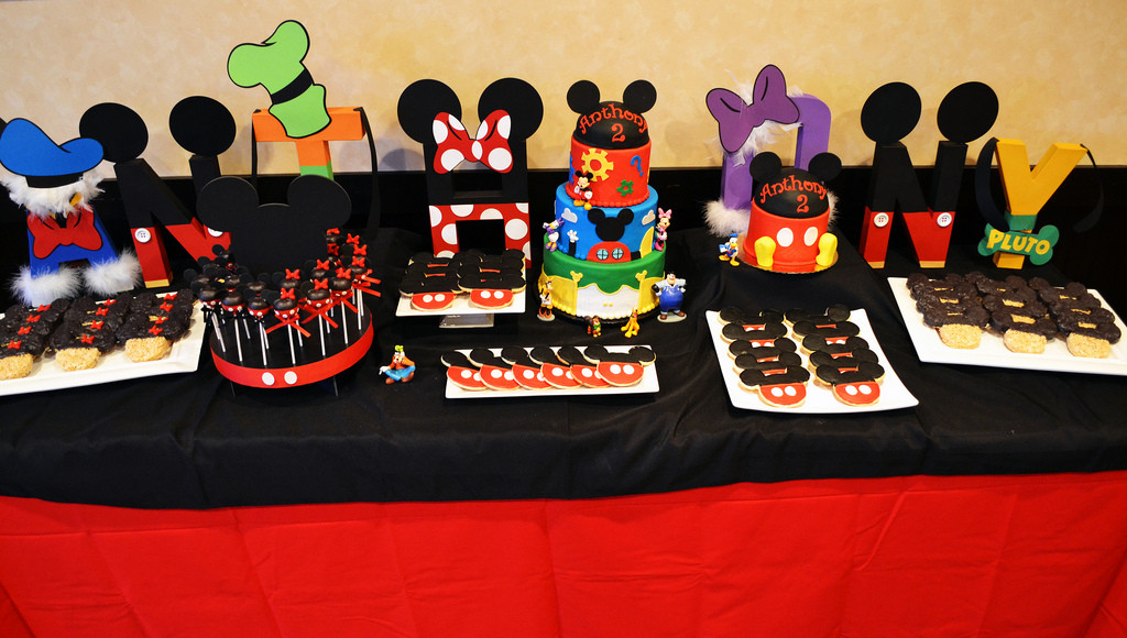 Best ideas about Mickey's Birthday Party . Save or Pin 57 Mickey Mouse Table Set Up Mickey Mouse Candy Table Now.