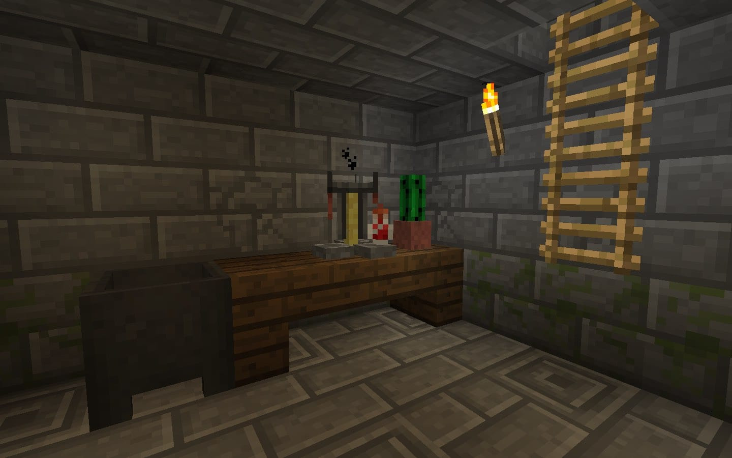 Best ideas about Minecraft Basement Ideas . Save or Pin Basement pictures Fabulous Home Design Now.