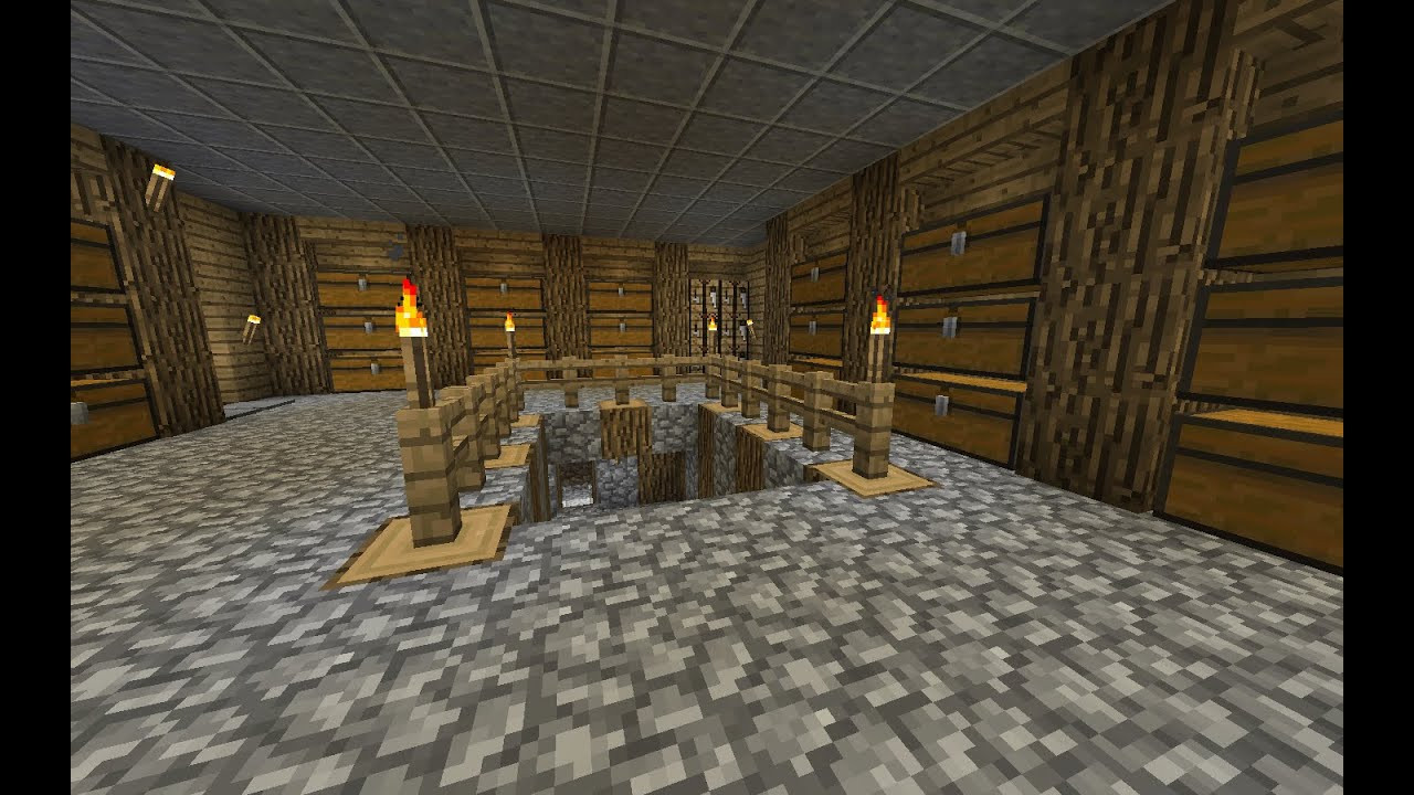 Best ideas about Minecraft Basement Ideas . Save or Pin Minecraft tutorial Simple basement Now.