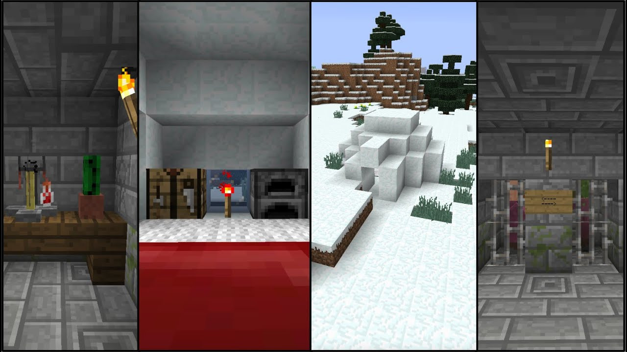 Best ideas about Minecraft Basement Ideas . Save or Pin IGLOO SEED With Basement Now.