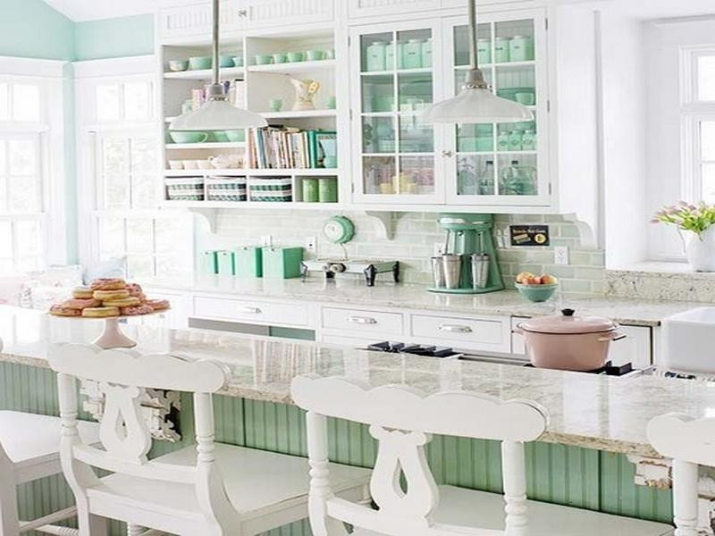 Best ideas about Mint Green Kitchen Decor . Save or Pin Bloombety Decorating With Mint Green Kitchen Awesome Now.
