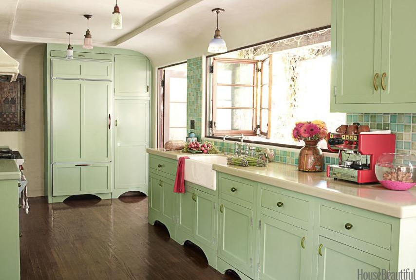 Best ideas about Mint Green Kitchen Decor . Save or Pin Lifestyle in Blog How to make Mint Green Color work Now.