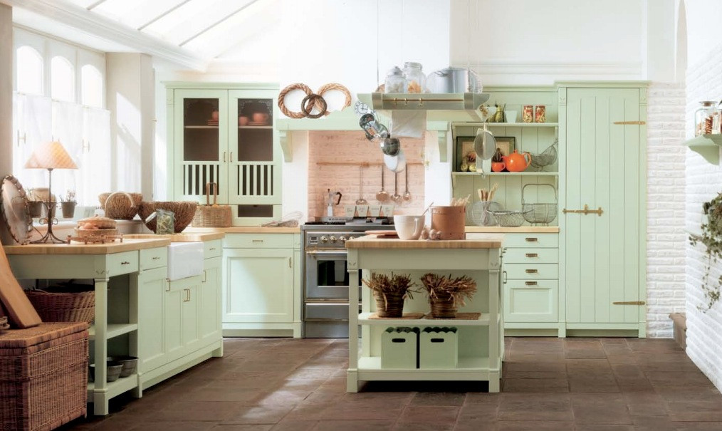 Best ideas about Mint Green Kitchen Decor . Save or Pin Minacciolo Country Kitchens with Italian Style Now.