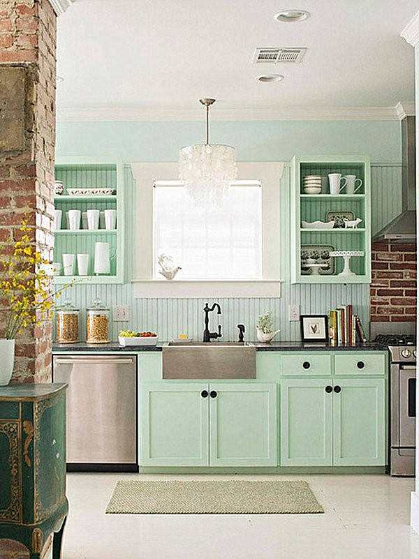 Best ideas about Mint Green Kitchen Decor . Save or Pin Pastel Interior Design That Takes the Cake Now.