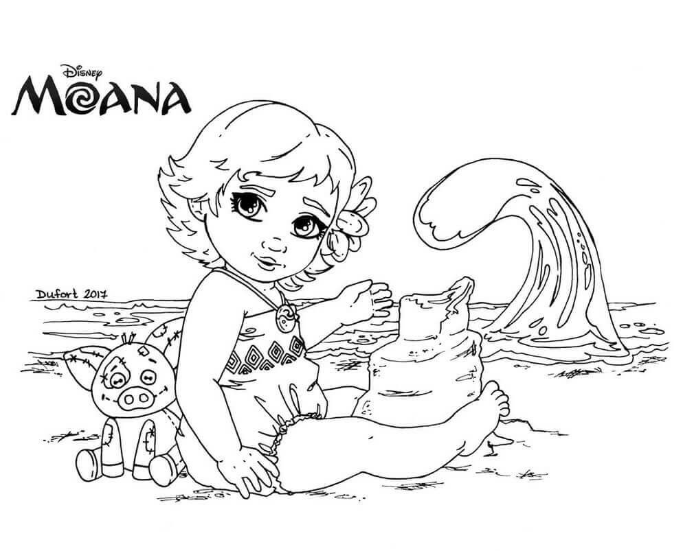 Best ideas about Moana Free Coloring Sheets . Save or Pin 35 Printable Moana Coloring Pages Now.