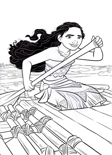 Best ideas about Moana Free Coloring Sheets . Save or Pin Moana Coloring Pages Best Coloring Pages For Kids Now.