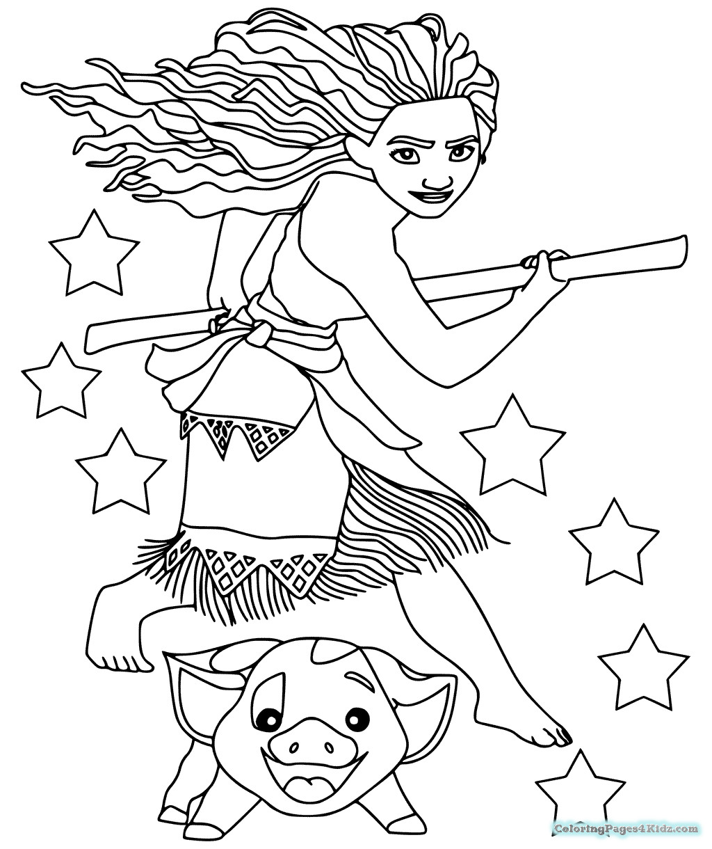 Best ideas about Moana Free Coloring Sheets . Save or Pin Moana Coloring Pages Now.