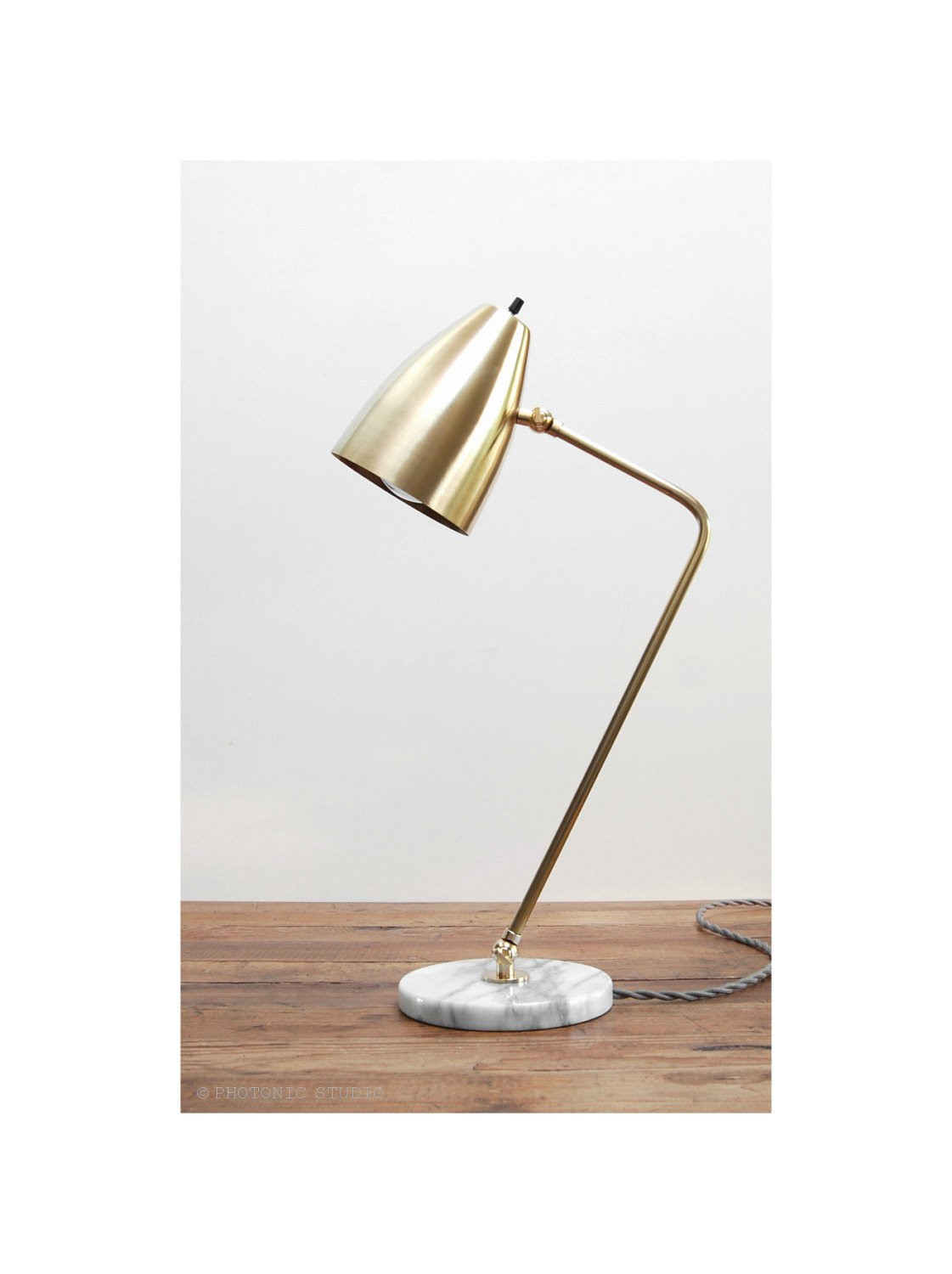 Best ideas about Modern Desk Lamp . Save or Pin Modern Table Lamp Marble Brass Lamp Mid Century Table Lamp Now.