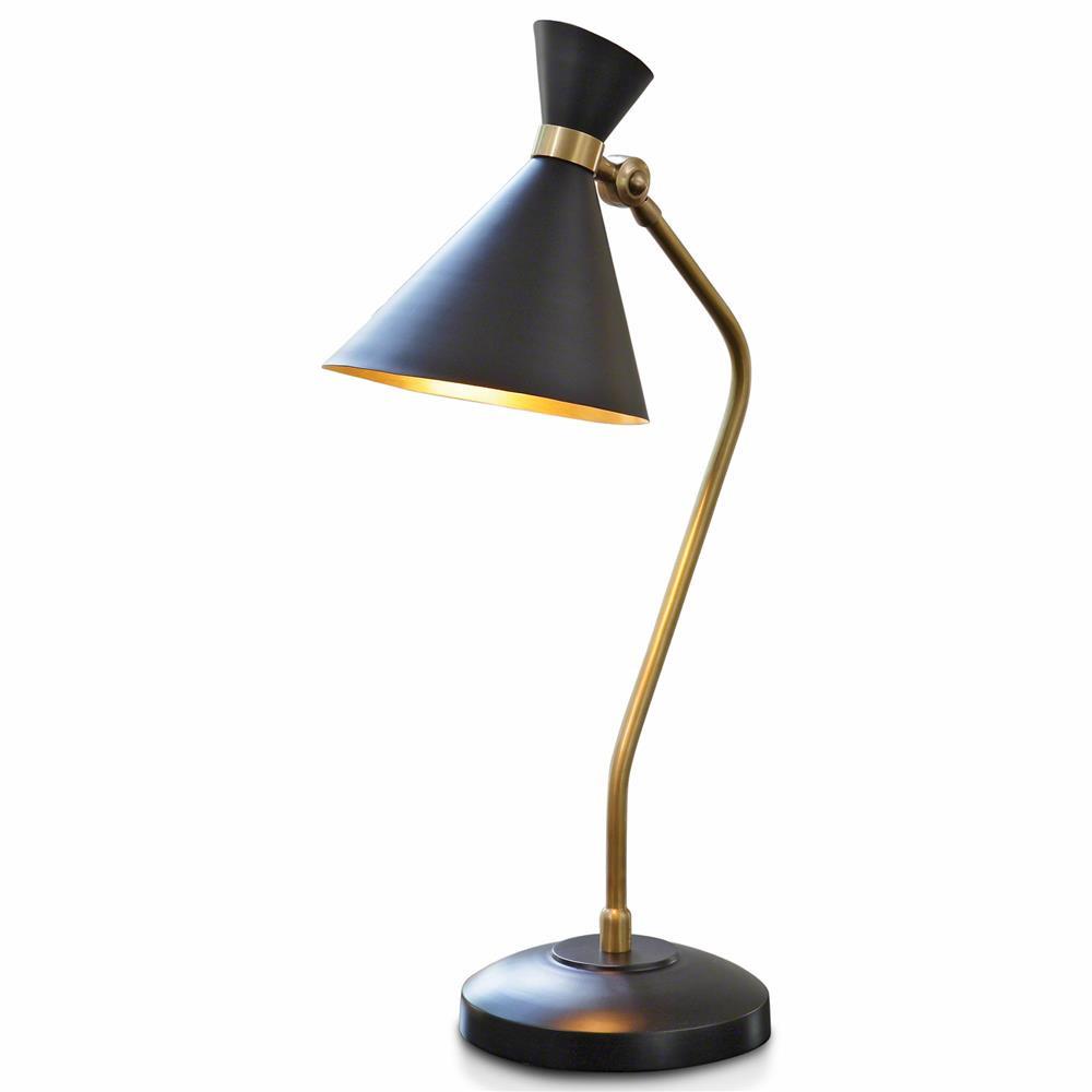 Best ideas about Modern Desk Lamp . Save or Pin Mercer Mid Century Modern Spun Brass Metal Bronze Now.