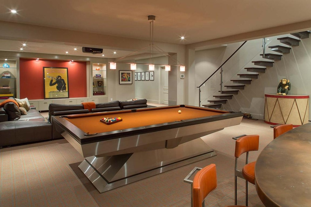 Best ideas about Modern Game Room . Save or Pin Unique and Stylish Game Rooms to Inspire Now.