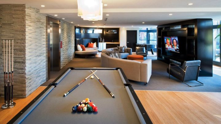 Best ideas about Modern Game Room . Save or Pin 25 Top Modern Basement Design Ideas Now.