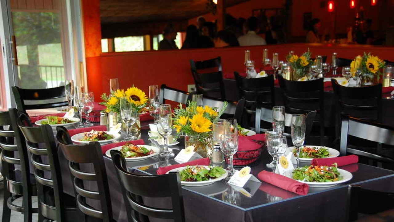 Best ideas about Mom's Birthday Ideas . Save or Pin Black Table Setting Ideas Italian Themed Dinner Party Now.