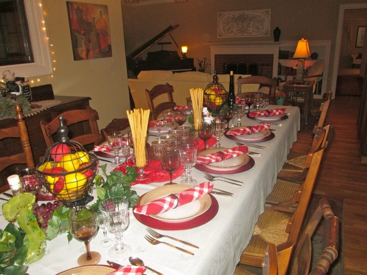 Best ideas about Mom's Birthday Ideas . Save or Pin Pin By Jo Garcia Italian Dinner Theme Pinterest Now.