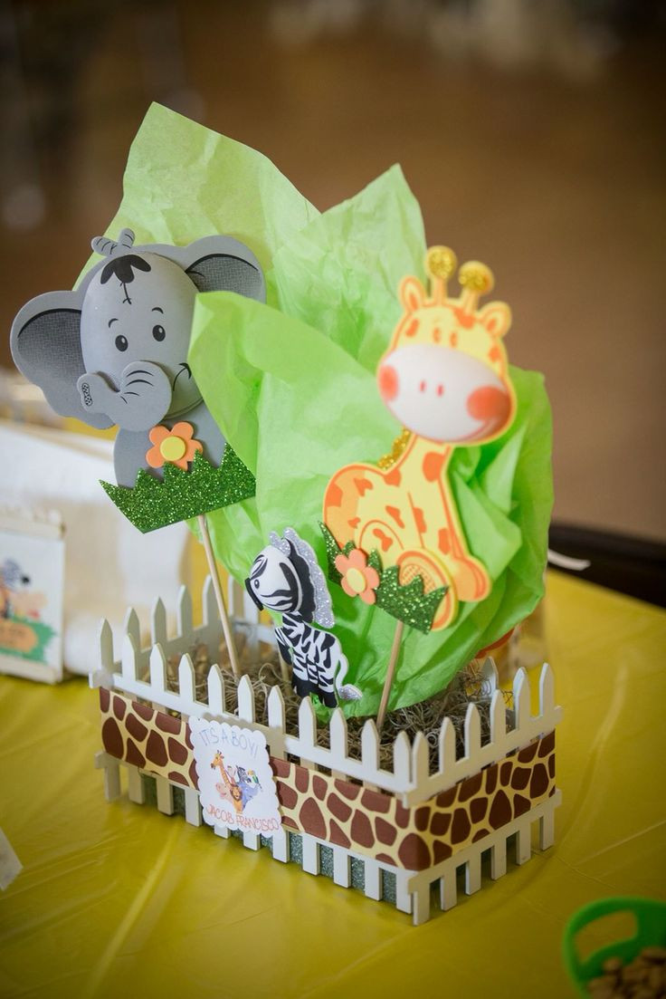 Best ideas about Mom's Birthday Ideas . Save or Pin 48 Safari Themed Baby Shower Centerpiece Ideas Baby Now.
